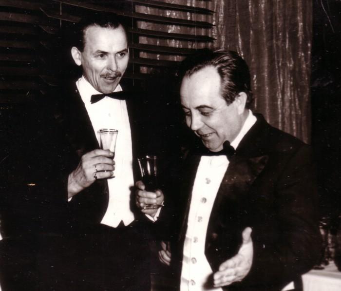 """""""Trešais vārds"""". Nikolajs Graumanis un Vilhelms Miķelsons.."""