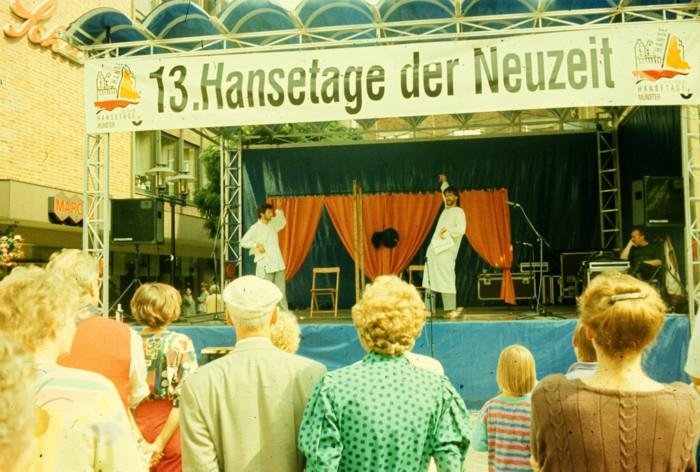 Hanzas dienās Minsterē 1993. gadā
