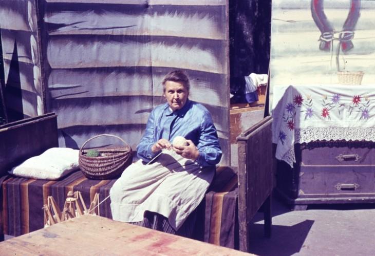 """Tija izrādē """"Precību viesulis"""", 1983"""