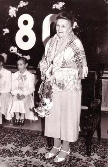Elza Lēnmane 80 gadu jubilejā