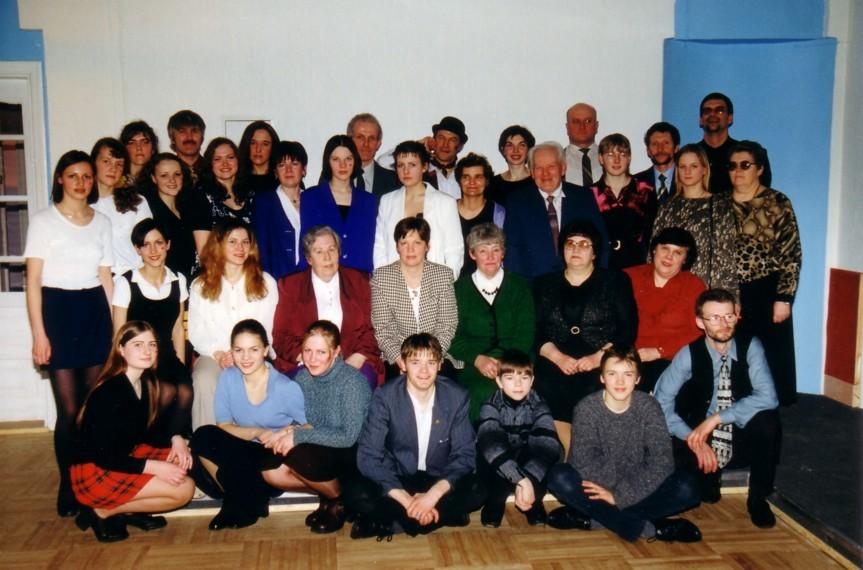 Teātra mājas atklāšana 1999.g.